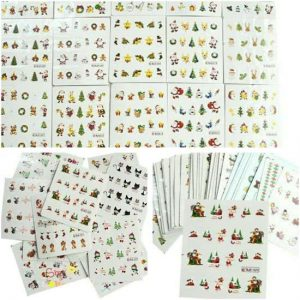 40-kerst-sheets-nail-art-stickers